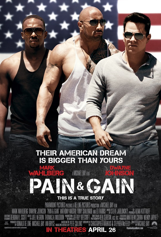PAIN &amp; GAIN Poster